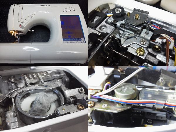 JUKIミシン修理|Jupre|HZL-009S