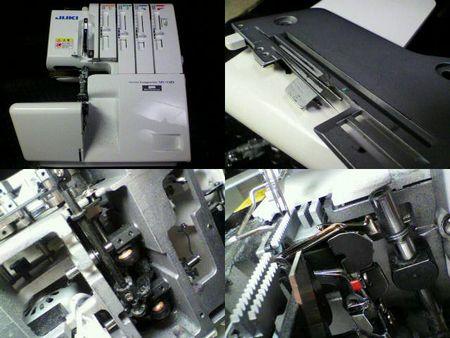 JUKIロックミシン修理|MO-114D|修理詳細画像