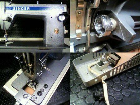 シンガー職業用ミシン修理|188Professional|修理詳細画像