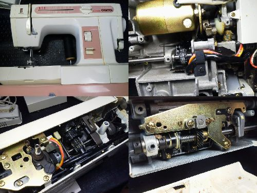JANOMEミシン修理|Combi2300SX