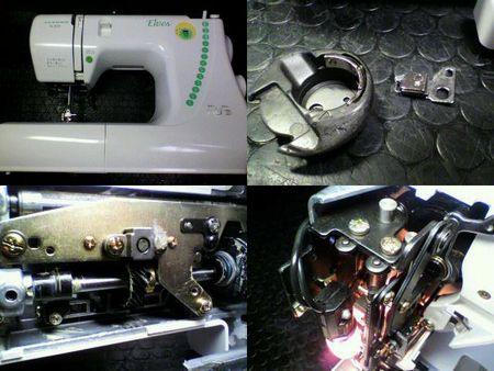 ジャノメミシン修理|Elves N-305|修理詳細画像