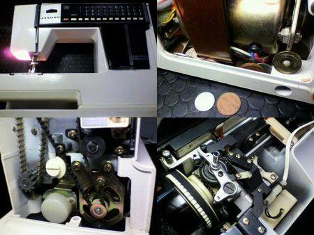 ジャノメミシン修理|メモリア 5001|修理詳細画像