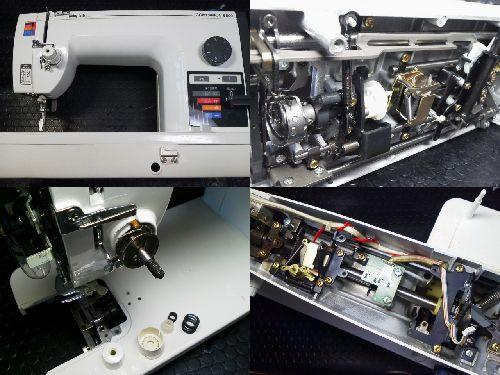 ジューキBABYLOCK職業用ミシン修理|COMPANION5500