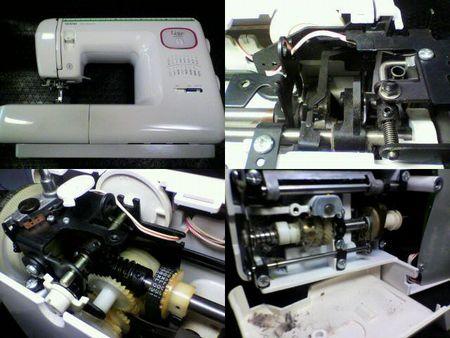 ブラザーミシン修理|リセスペシャル ZZ3-B579|修理詳細画像