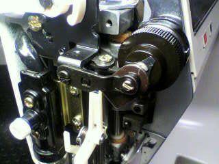 ジャノメミシン修理|メモリークラフト6000|糸調子|糸通し
