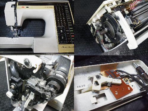 ジャノメミシン修理|メモリークラフト6000