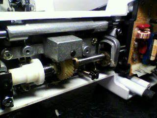 SINGER修理|フィットライン6200|下軸