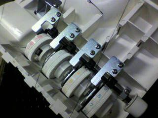 JUKIロック修理|アーチザン630|糸調子ダイヤル