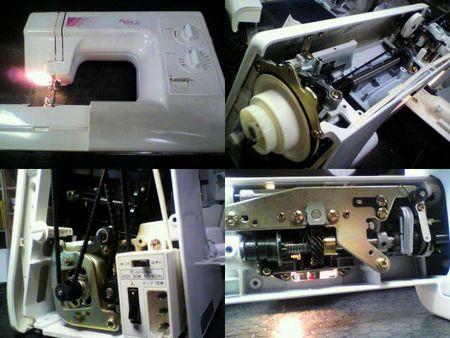 ジャノメミシン修理|Plaire10 637型|修理詳細画像