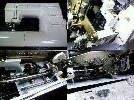 ジャノメミシン修理|Plaire18 643型|修理詳細画像