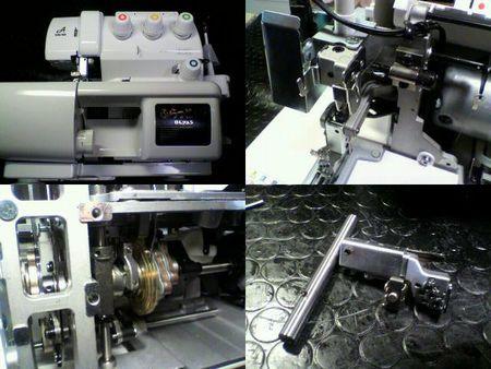 ベビーロック修理|ふらっとろっく BL72S|修理詳細画像