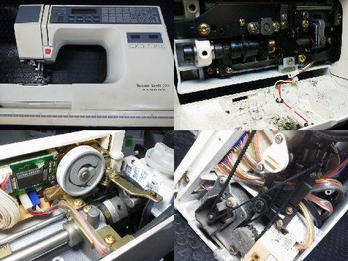 ジャノメミシン修理|センサークラフト7300