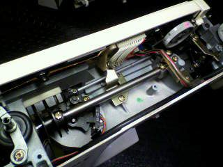 ジャノメミシン修理|センサークラフト7300|分解