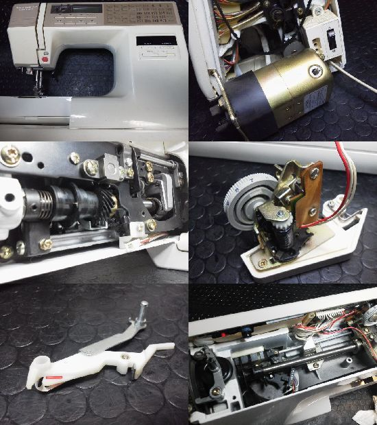 JANOME sensor craft 7500