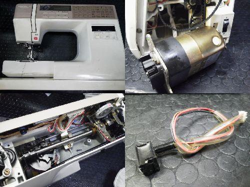 JANOMEミシン修理|センサークラフト7500
