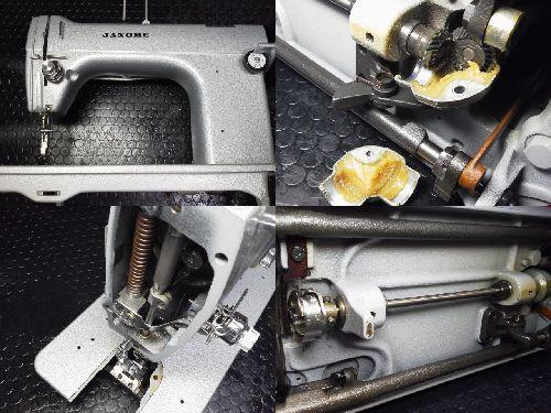 ジャノメ職業用ミシン修理|766型