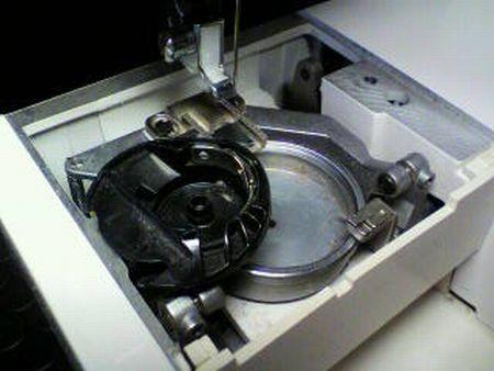 ブラザーミシン修理|Tendy ZZ3-B778|釜|内釜