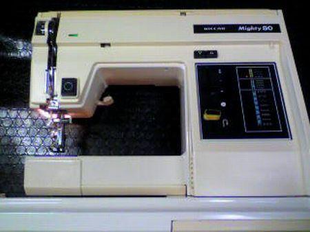 リッカーミシン修理|マイティ80