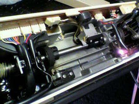 リッカーミシン修理|マイティ80|上軸