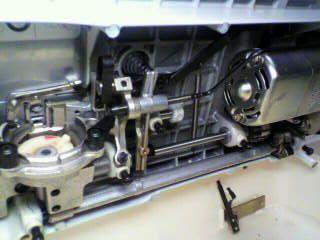 JANOMEミシン修理|トピアエース802|下軸