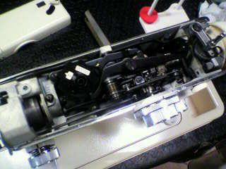 蛇の目ミシン修理|トピアエース802|上軸ギヤ