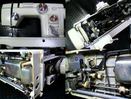 ジャノメミシン修理|トピアエース802|修理詳細画像
