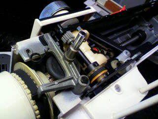 JANOME修理|EXCEL813|糸巻き軸