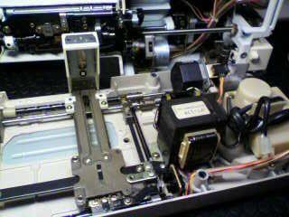 JANOMEミシン修理|SECIO8200|ステッピングモーターエラー(stepping motor error)|刺繍機