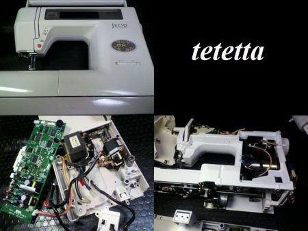 ジャノメミシン修理|セシオ8200|修理詳細画像
