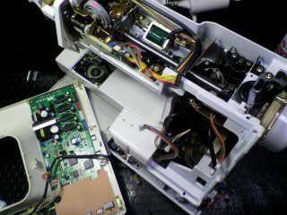 ジャノメミシン修理|SECIO8300|分解|オーバーホール