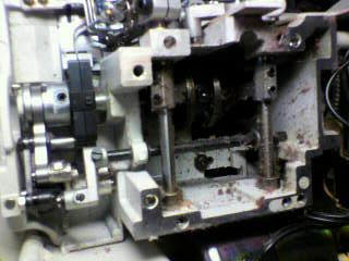 BABYLOCKロックミシン修理|BL4-85|分解