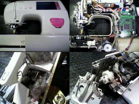 ブラザーミシン修理|D-8800 EM9921|修理詳細画像