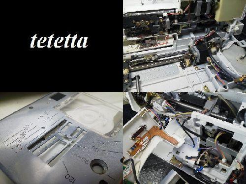 ジャノメミシン修理|セシオEX 9000型