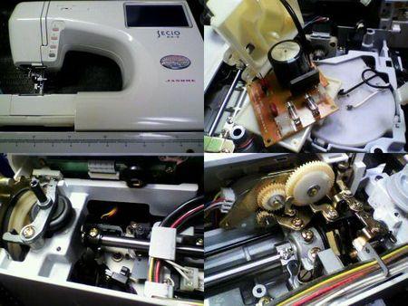 ジャノメミシン修理|セシオEX-Ⅱ 9100|修理詳細画像