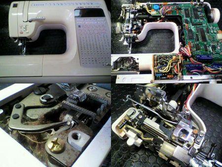 JUKI<br />ミシン修理|HZL-9800|修理詳細画像