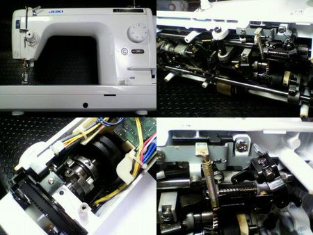 JUKI職業用ミシン修理|SPUR98DX TL-98DX|修理詳細画像