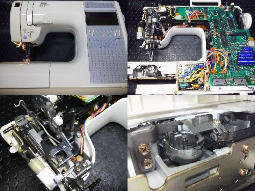 JUKIミシン修理|HZL-9900