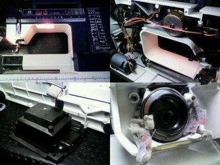 エレクトロラックスミシン修理|プリズマ990S|修理詳細画像