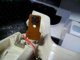 ブラザー修理|PURET40E|ZZ3-B494|手元スイッチ