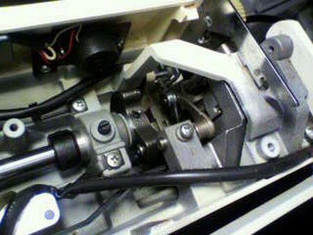 リッカーミシン修理|マイティB5|上軸|天秤