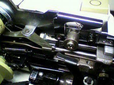 リッカーミシン修理|マイティB5|糸通し機|針棒