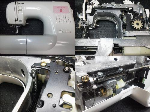 ブラザーミシン修理|AZ-700|ZZ3-B543