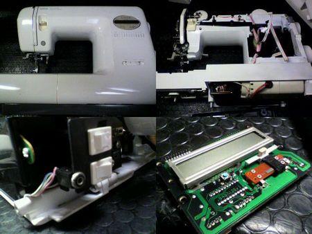 ブラザーミシン修理|Licia ZZ3-B583|修理詳細画像