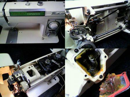 ブラザーミシン修理|ペースセッター ZU2-B610|修理詳細画像