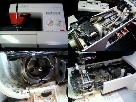 ブラザーミシン修理|コンパルDX ZZ3-B750|修理詳細画像