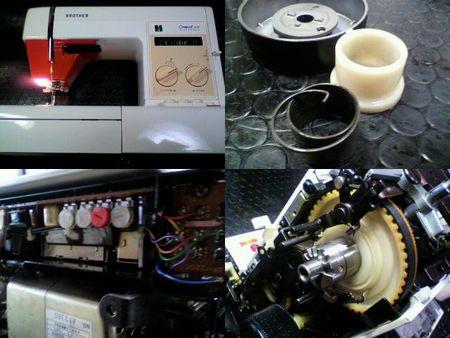 ブラザーミシン修理|コンパルエース ZZ3-B760|修理詳細画像