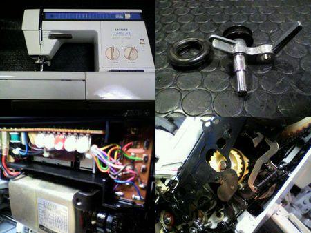 ブラザーミシン修理|コンパルエース ZZ3-B765|修理詳細画像