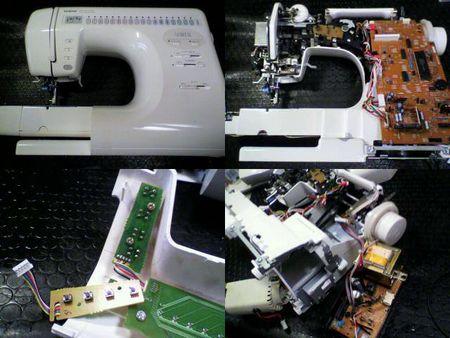 ブラザーミシン修理|SOREIL ZZ3-B823|修理詳細画像