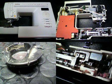 ブラザーミシン修理|コンパル-L ZZ3-B840|修理詳細画像