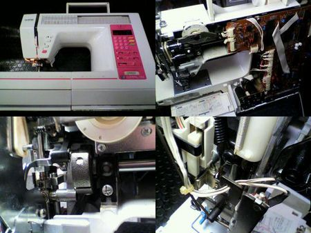 ブラザーミシン修理|コンパルアルファ2 ZZ3-B861|修理詳細画像